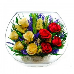 22_15 Цветы в стекле ~ вакуум*~
