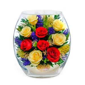 24_01 Цветы в стекле! ~ вакуум*~