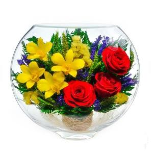 17_08 Цветы в стекле ~ вакуум*~
