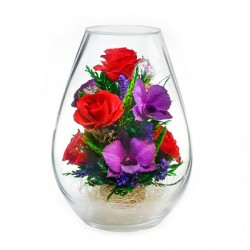 08_12 Цветы в стекле ~ вакуум*~