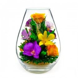 08_13 Цветы в стекле ~ вакуум*~