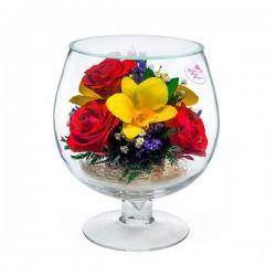07_24 Цветы в стекле ~ вакуум*~