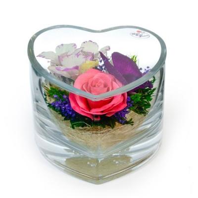 07_55 Цветы в стекле ~ вакуум*~