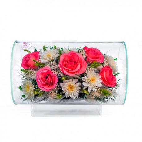 11_50 Цветы в стекле ~ вакуум*~