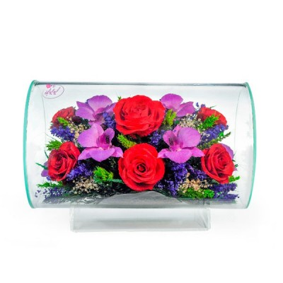 11_51 Цветы в стекле ~ вакуум*~