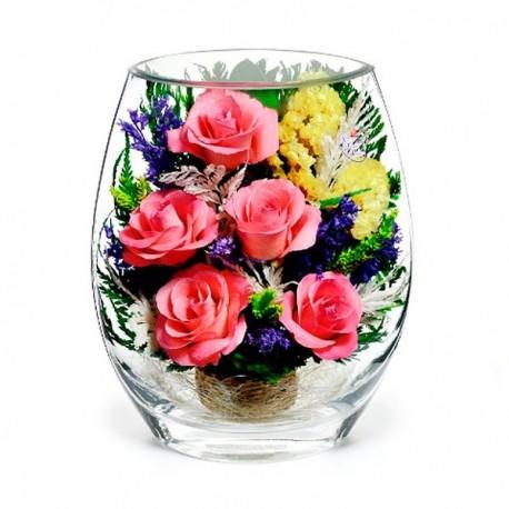 25_08 Цветы в стекле ~ вакуум*~