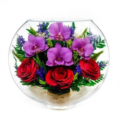 17_02 Цветы в стекле ~ вакуум*~