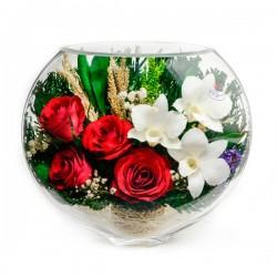 17_05 Цветы в стекле ~ вакуум*~