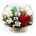 20_04 Цветы в стекле ~ вакуум*~