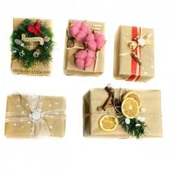 98_63 Подарочная новогодняя упаковка