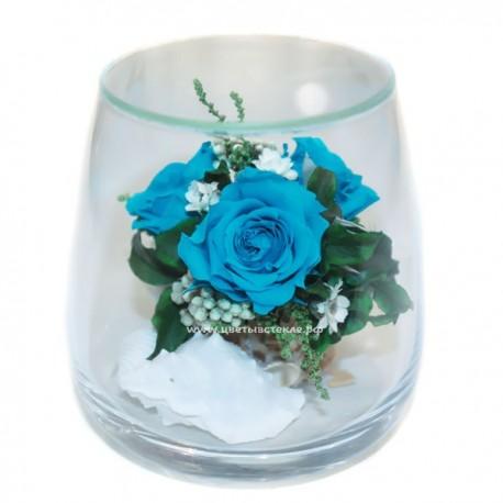 99_04 натуральный пион в стекле, вакуум*