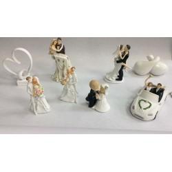 20_18 Свадебные фигурки для торта