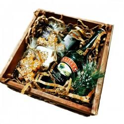 98_64 Новогодний декор для подарка