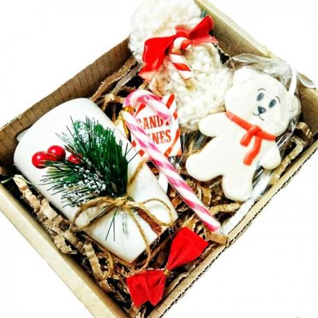 98_65 Новогодний декор для подарка