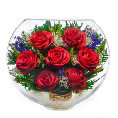18_01 Цветы в стекле ~ вакуум*~