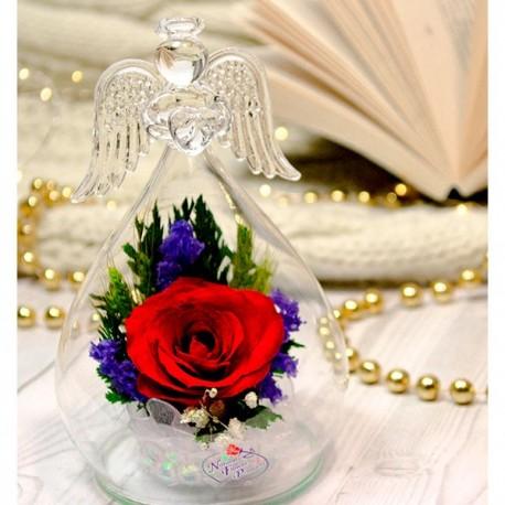 Цветы в стекле, Ангел