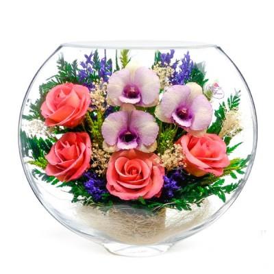 17_07 Цветы в стекле ~ вакуум*~