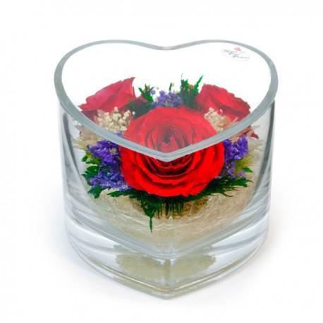 01_11 Цветы в стекле ~ вакуум*~