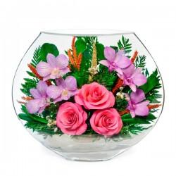 20_03 Цветы в стекле! ~ вакуум ~