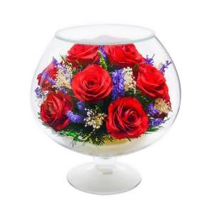07_301 Цветы в стекле ~ вакуум*~