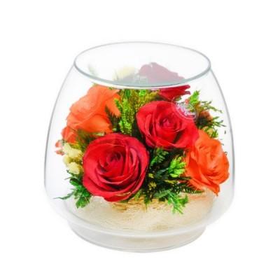 01_15 Цветы в стекле ~ вакуум*~