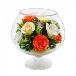 07_40 Цветы в стекле ~ вакуум*~