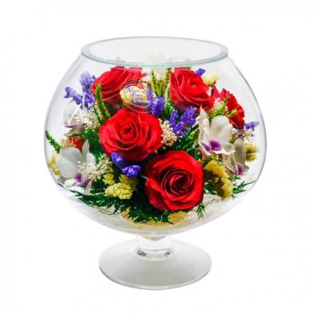 07_32 Цветы в стекле ~ вакуум*~