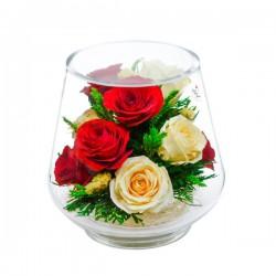 09_10 Цветы в стекле ~ вакуум*~