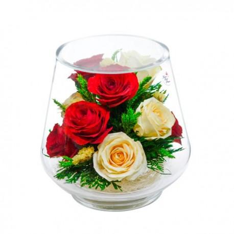 07_50 Цветы в стекле ~ вакуум*~