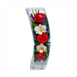26_04 Цветы в стекле ~ вакуум*~