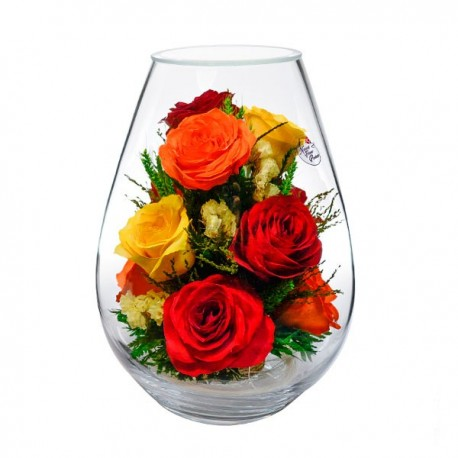 08_14 Цветы в стекле ~ вакуум*~