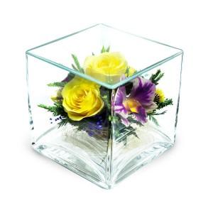 26_06 Цветы в стекле ~ вакуум*~