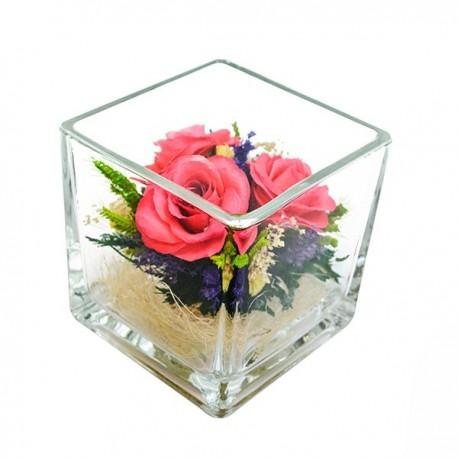 26_08 Цветы в стекле ~ вакуум*~