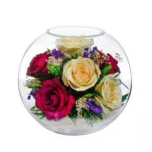 02_18 Цветы в стекле ~ вакуум*~
