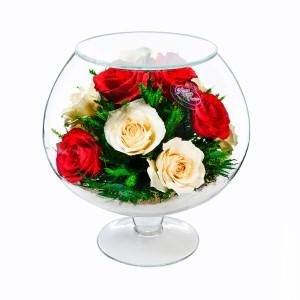 07_43 Цветы в стекле ~ вакуум*~