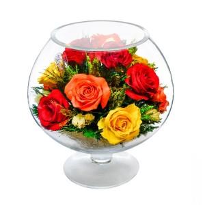 07_44 Цветы в стекле ~ вакуум*~