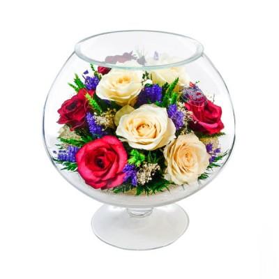 07_41 Цветы в стекле ~ вакуум*~