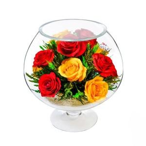 07_45 Цветы в стекле ~ вакуум*~