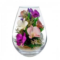 08_17 Цветы в стекле ~ вакуум*~