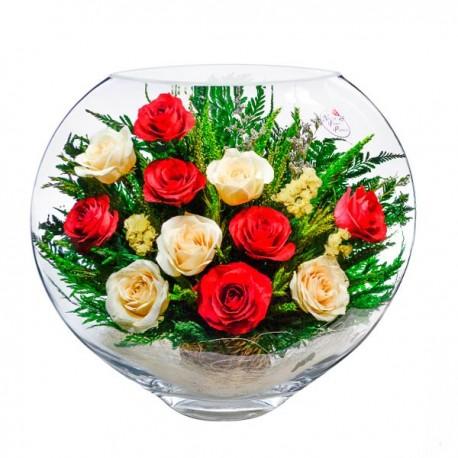15_12 Цветы в стекле ~ вакуум*~