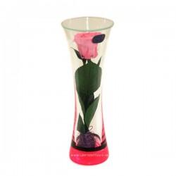 99_72 Роза в стеклянной колбе, вакуум*
