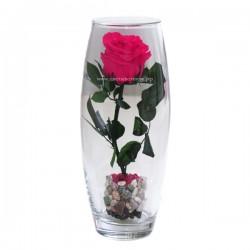 99_76 Роза в колбе на стебле