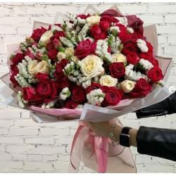 105 Букет Розы, статица
