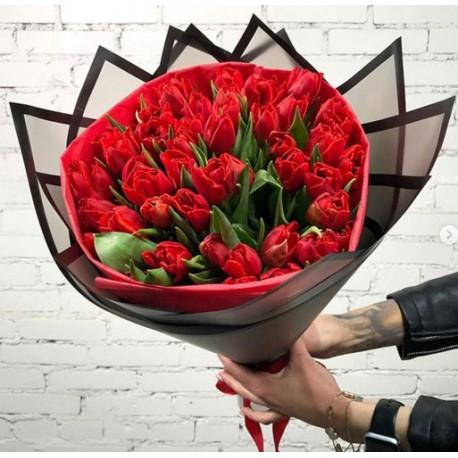 110 Букет тюльпаны