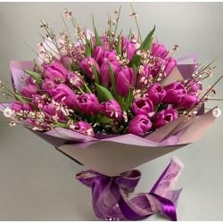 112 Тюльпаны+ароматная Гениста