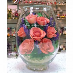 10_08 Цветы в стекле ~ вакуум*~