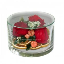 99_18 Розы в стекле, вакуум*