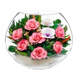 22_14 Цветы в стекле ~ вакуум*~