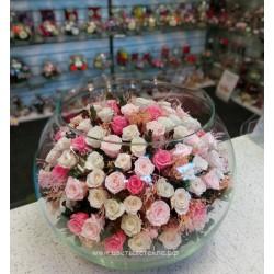99_19 Цветы розы микс