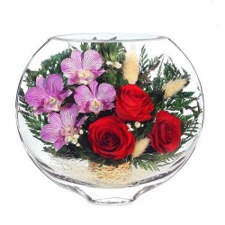 17_01 Цветы в стекле ~ вакуум*~